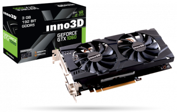 Inno3D GeForce GTX1060 3GB X2