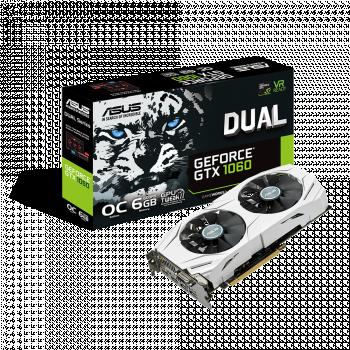 ASUS Dual GeForce® GTX 1060 OC 6GB GDDR5