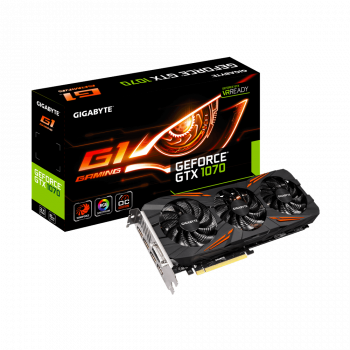 GIGABYTE GeForce® GTX 1070 G1 Gaming 8G